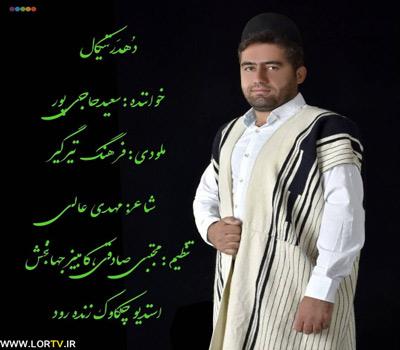 دانلود آهنگ لری دهدر تی کال از سعید حاجی پور